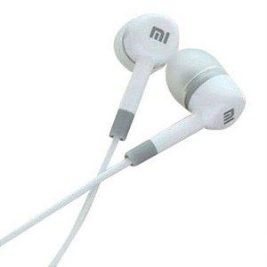 Fone de Ouvido 3.5mm Intra Auricular MI2 - Branco