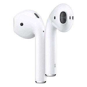 Fone de Ouvido Bluetooth Sem fio Base Carregadora - Branco