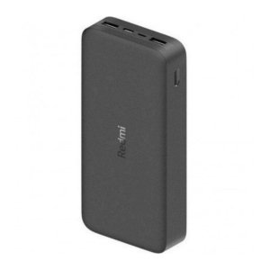 Carregador Portátil power Bank Xiaomi 20.000mAh - Preto