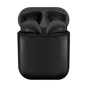 Fone de Ouvido Sem Fio Bluetooth InPods Color - Preto