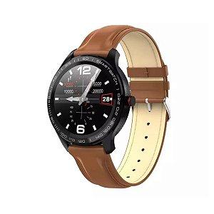 Relógio Inteligente Smartwatch À Prova Dágua KP-SW9 - Couro
