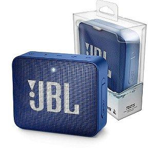 Caixa de Som Bluetooth JBL GO 2 À prova de água - Azul