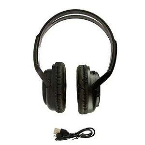 Fone de ouvido estéreo Bluetooth Inova FON-6701 - Preto