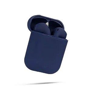 Fone de Ouvido Sem Fio Bluetooth InPods Color - Azul