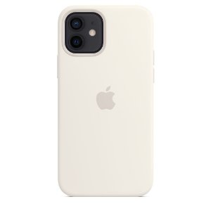 Capa Case Apple Silicone para iPhone 12 e 12 PRO - Branca