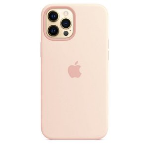 Capa Case Apple Silicone para iPhone 12 Pro Max - Rosa Areia