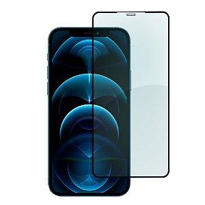 Película de Vidro 3D 5D Apple iPhone 12 Pro Max - Preta