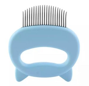 Escova massageadora azul