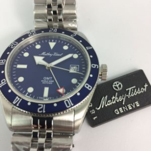 Mathey-Tissot Rolly Vintage GMT Quartz H902ABU