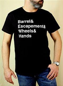 Camiseta MOVEMENT PARTS PRETA (PRÉ VENDA)
