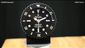 Relógio de Mesa Tipo Rolex Submariner