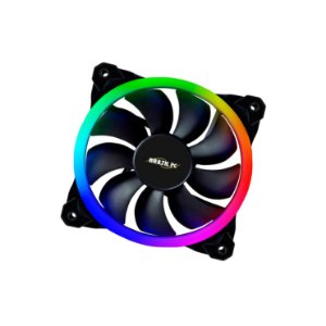 FAN DUPLO LED RGB PARA GABINETE 120MM BPC-DL12-RGB