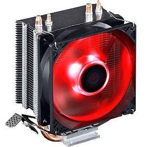 COOLER BPC-GAMER100 COM COBRE + LED VERMELHO PARA PROCESSADOR INTEL E AMD