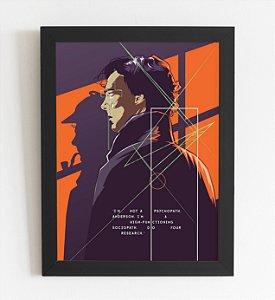 Quadro Decorativo Sherlock