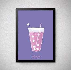 Quadro Decorativo Beetlejuice
