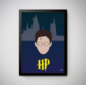 Quadro Decorativo Harry Potter