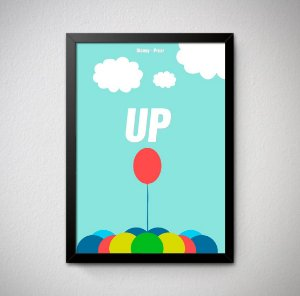 Quadro Decorativo Up - Altas Aventuras