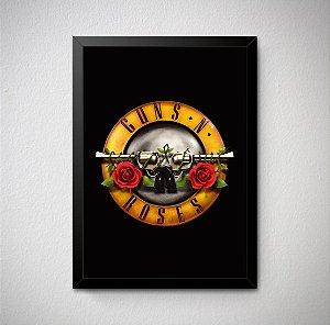 Quadro Decorativo Guns N' Roses