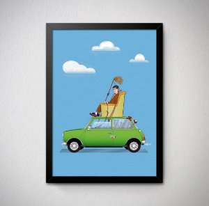 Quadro Decorativo Mr. Bean