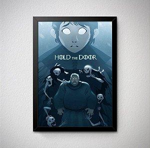 Quadro Decorativo Game of Thrones - Hold the Door