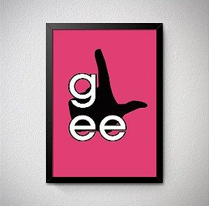 Quadro Decorativo Glee