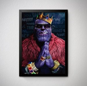 Quadro Decorativo Thanos