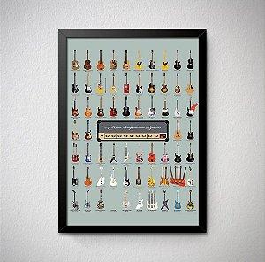 Quadro Guitarras