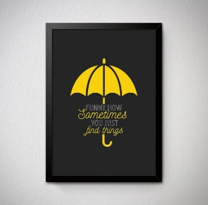 Quadro Decorativo How I Met Your Mother