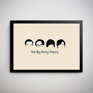Quadro Decorativo The Big Bang Theory