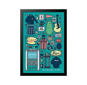 Quadro Poster Gilmore Girls 33x23cm