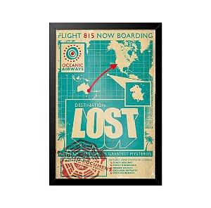 Quadro Poster Lost 33x23cm