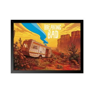 Quadro Poster Breaking Bad Trailler 33x23cm