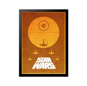 Quadro Poster Star Wars 33x23cm