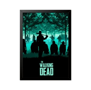 Quadro Poster The Walking Dead Negan 33x23cm