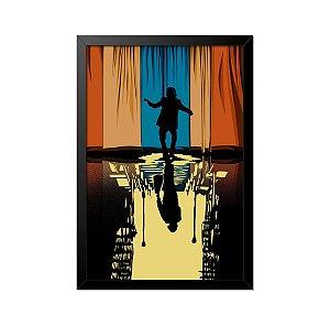 Quadro Poster Coringa Joker 33x23cm