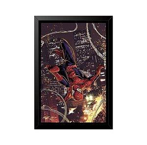 Quadro Poster Homem Aranha Desenho 33x23cm
