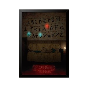 Quadro Poster Stranger Things RUN 33x23cm