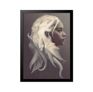 Quadro Poster Game of Thrones Daenerys 33x23cm