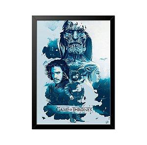 Quadro Poster Game of Thrones 33x23cm