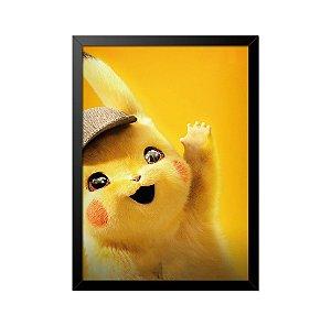 Quadro Poster Pokémon Pikachu 33x23cm