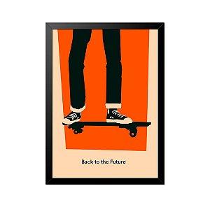 Quadro Poster De Volta para o Futuro Skate 33x23cm