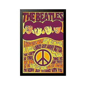 Quadro Poster The Beatles 33x23cm