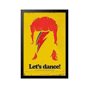 Quadro Poster David Bowie 33x23cm