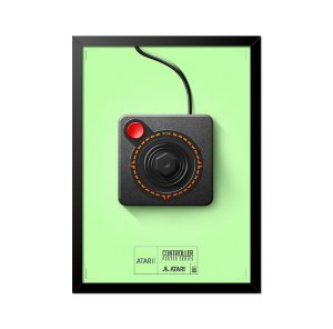 Quadro Poster Controle Atari 33x23cm