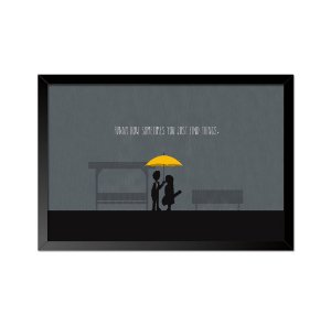 Quadro Poster How I Met Your Mother 33x23cm