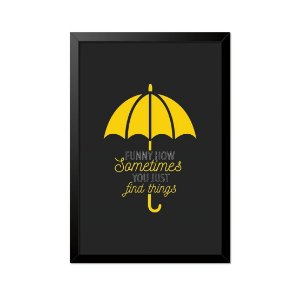 Quadro Poster How I Met Your Mother Funny How 33x23cm