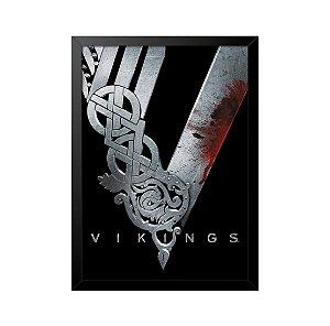 Quadro Poster Vikings 33x23cm