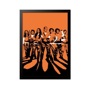 Quadro Poster Orange is the new Black Sombras 33x23cm