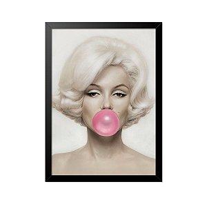 Quadro Poster Marylin Monroe 33x23cm
