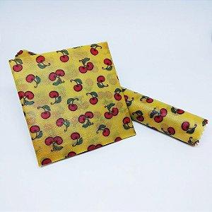 Cerejinha {Tecido de Cera * Kit com 2 M}
